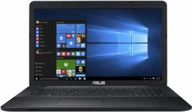 "Ноутбук ASUS X751SJ-TY017T, 17.3"", Intel Pentium N3700, 1.6ГГц, 4Гб, 500Гб, nVidia GeForce 920M - 1024 Мб, DVD-RW (90NB07S1-M00860)"