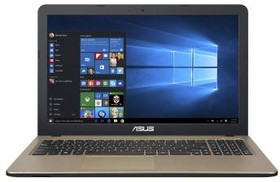"Ноутбук ASUS X540SC-XX040T, 15.6"", Intel Pentium N3700, 1.6ГГц, 4Гб, 500Гб, nVidia GeForce 810M - 1024 Мб, DVD-RW (90NB0B21-M01640)"