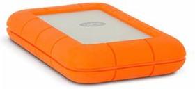 Внешний жесткий диск LACIE Rugged V2 STEV2000400, 2Тб, оранжевый