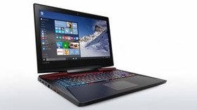 "Ноутбук LENOVO IdeaPad Y900-17ISK, 17.3"", Intel Core i7 6700HQ, 2.6ГГц, 16Гб, 1000Гб, 128Гб SSD, nVidia GeForce GTX 980M - (80Q10061RK)"