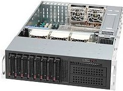 """Сервер IRU Rock S3208 1xE5-2609v3 2x4Gb x8 2x4Tb 7.2K 3.5"""" 1G 2P 2x800W"""