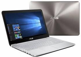 """Ноутбук ASUS N752VX-GC277T, 17.3"""", Intel Core i7 6700HQ, 2.6ГГц, 16Гб, 1000Гб, nVidia GeForce GTX 950M - 4096 Мб (90NB0AY1-M03350)"""