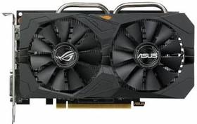 Видеокарта ASUS Radeon RX 460, STRIX-RX460-O4G-GAMING, 4Гб, GDDR5, OC, Ret