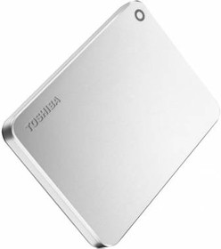 Внешний жесткий диск TOSHIBA Canvio Premium HDTW110EC3AA, 1Тб, серебристый