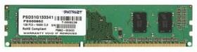 Модуль памяти PATRIOT PSD31G133381 DDR3 - 1Гб 1333, DIMM, Ret