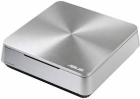 Неттоп ASUS VivoPC VM42-S232Z, Intel Celeron 2980U, DDR3 2Гб, 500Гб, Intel HD Graphics, Windows 10, серебристый [90ms00b1-m02320]