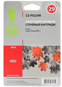 Картридж CACTUS CS-PGI29R красный