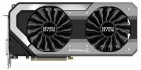 Видеокарта PALIT GeForce GTX 1070, PA-GTX1070 JETSTREAM 8G, 8Гб, GDDR5, Ret [ne51070015p2-1041j]
