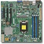 Серверная материнская плата SUPERMICRO MBD-X11SSH-LN4F-O, Ret