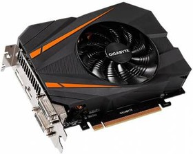 Видеокарта GIGABYTE GeForce GTX 1070, GV-N1070IXOC-8GD, 8Гб, GDDR5, OC, Ret