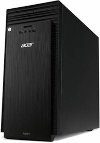 Компьютер ACER Aspire TC-704, Intel Pentium J3710, DDR3 2Гб, 500Гб, Intel HD Graphics 405, DVD-RW, Windows 10 Home (DT.B41ER.002)