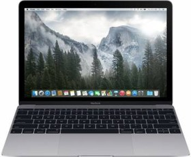 "Ноутбук APPLE MacBook MLH72RU/A, 12"", Intel Core M3 6Y30, 1.1ГГц, 8Гб, 256Гб SSD, Intel HD Graphics 515, Mac OS X, темно-серый"