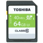 Карта памяти SDXC UHS-I TOSHIBA N301 64 ГБ, 48 МБ/с ...