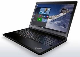 "Ноутбук LENOVO ThinkPad P70, 17.3"", Intel Xeon E3-1505M, 2.8ГГц, 16Гб, 1000Гб, 256Гб SSD, nVidia Quadro M3000M - 4096 Мб (20ER0029RT)"