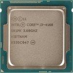 Процессор INTEL Core i3 4160, LGA 1150 * BOX [bx80646i34160 ...