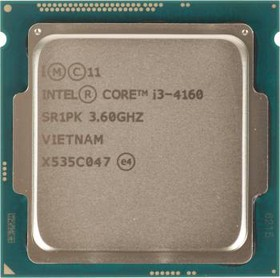 Процессор INTEL Core i3 4160, LGA 1150 * BOX [bx80646i34160 s r1pk]