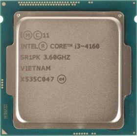 Процессор INTEL Core i3 4160, LGA 1150 * BOX [bx80646i34160 s r1pk]