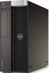 Рабочая станция DELL Precision T5810, Intel Xeon E5-1603 v4, DDR4 8Гб, 1000Гб, DVD-RW, Windows 7 Professional, черный [5810-0224]