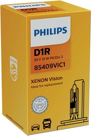 Фото 1/5 Лампа автомобильная D1R 85V-35W (PK32d-3) Vision (Philips)