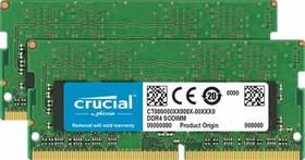 Модуль памяти CRUCIAL CT2K8G4SFD8213 DDR4 - 2x 8Гб 2133, SO-DIMM, Ret
