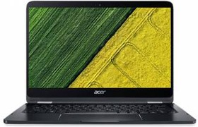 "Ультрабук ACER Spin SP714-51-M5DV, 14"", Intel Core i7 7Y75, 1.3ГГц, 8Гб, 256Гб SSD, Intel HD Graphics интегрированное (NX.GKPER.002)"