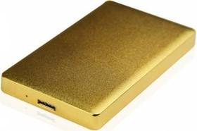 Внешний корпус для HDD/SSD AGESTAR 31UB2A15, золотистый