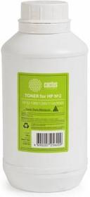 Тонер CACTUS CS-THP2-150, для HP LJ 1000/1200/1150/9000, черный, 150грамм, флакон