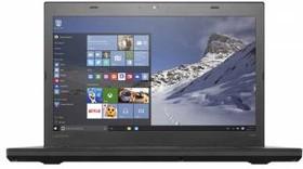 """Ноутбук LENOVO ThinkPad T460, 14"""", Intel Core i7 6600U, 2.6ГГц, 8Гб, 256Гб SSD, Intel HD Graphics 520, Windows 7 (20FN003GRT)"""