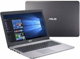 """Ноутбук ASUS K501UX-DM282T, 15.6"""", Intel Core i7 6500U, 2.5ГГц, 8Гб, 1000Гб, nVidia GeForce GTX 950M - 2048 Мб (90NB0A62-M03370)"""