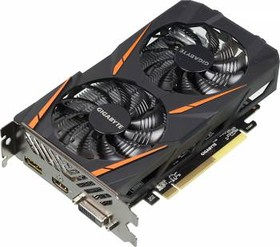 Видеокарта GIGABYTE Radeon RX 460, GV-RX460WF2OC-2GD, 2Гб, GDDR5, OC, Ret