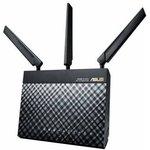 Беспроводной маршрутизатор ASUS 4G-AC55U, черный
