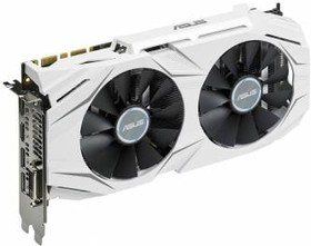 Видеокарта ASUS Radeon RX 480, DUAL-RX480-O4G, 4Гб, GDDR5, OC, Ret