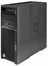 Рабочая станция HP Z640, Intel Xeon E5-2620 v4, DDR4 16Гб, 1000Гб, DVD-RW, CR, Windows 7 Professional, черный [t4k60ea]