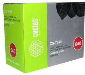 Картридж CACTUS CS-T640 64016HE, черный
