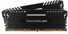 Модуль памяти CORSAIR Vengeance LED CMU32GX4M2A2666C16 DDR4 - 2x 16Гб 2666, DIMM, Ret
