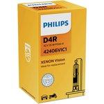 Фото 2/2 Лампа автомобильная D4R 42V-35W (P32d-6) Vision (Philips)