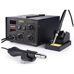 Паяльная станция термовоздушная YiHUA 852D+ (мембранный насос)