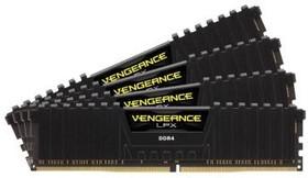 Модуль памяти CORSAIR Vengeance LPX CMK64GX4M4A2400C16 DDR4 - 4x 16Гб 2400, DIMM, Ret