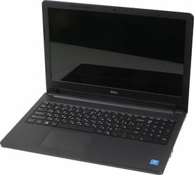 "Ноутбук DELL Inspiron 3552, 15.6"", Intel Pentium N3710, 1.6ГГц, 4Гб, 500Гб, Intel HD Graphics 405, DVD-RW, Windows 10, черный [3552-3072]"