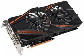 Видеокарта GIGABYTE GeForce GTX 1070, GV-N1070WF2OC-8GD, 8Гб, GDDR5, OC, Ret