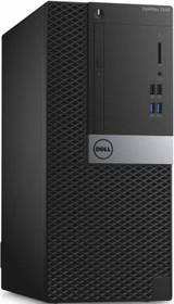 Компьютер DELL Optiplex 3040, Intel Core i3 6100, DDR3L 4Гб, 500Гб, Intel HD Graphics 530, DVD-RW, Windows 7 (3040-2389)