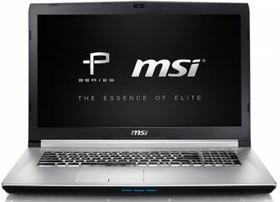 """Ноутбук MSI PE70 6QE-063XRU, 17.3"""", Intel Core i7 6700HQ, 2.6ГГц, 8Гб, 1000Гб, nVidia GeForce GTX 960M - 2048 Мб (9S7-179542-063)"""