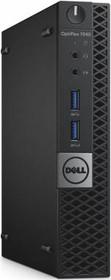 Компьютер DELL Optiplex 7040, Intel Core i5 6500T, DDR4 4Гб, 500Гб, Intel HD Graphics 530, Windows 7 Professional (7040-2716)