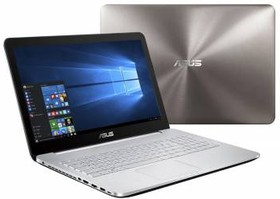 """Ноутбук ASUS N752VX-GC218T, 17.3"""", Intel Core i5 6300HQ, 2.3ГГц, 4Гб, 1000Гб, nVidia GeForce GTX 950M - 4096 Мб (90NB0AY1-M02530)"""