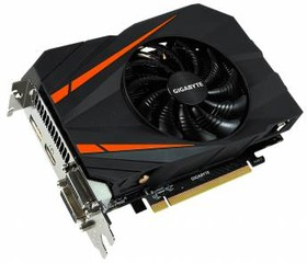 Видеокарта GIGABYTE GeForce GTX 1060, GV-N1060IXOC-6GD, 6Гб, GDDR5, OC, Ret
