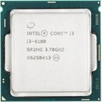 Процессор INTEL Core i3 6100, LGA 1151 BOX