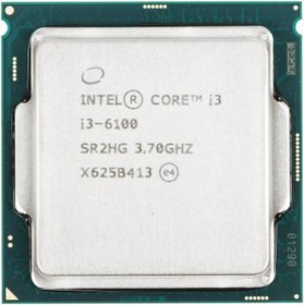 Процессор INTEL Core i3 6100, LGA 1151 BOX