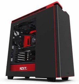 Корпус ATX NZXT H440, Midi-Tower, без БП, черный и красный