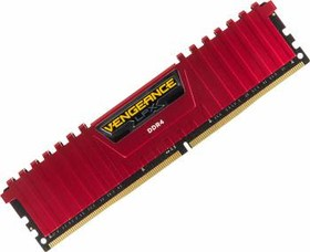 Модуль памяти CORSAIR Vengeance LPX CMK8GX4M1A2400C16R DDR4 - 8Гб 2400, DIMM, Ret