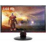"""Монитор ЖК AOC Gaming G2460PF 24"""", черный/красный и черный"""